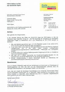 Antrag Auskunft Rundfunkgebühren
